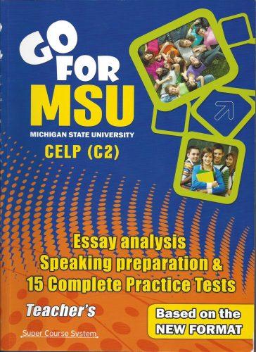 SuperCourse Gofor MSU-CELP COVER