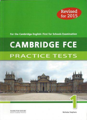 Listening Hamilton Cambridge FCE1 First for Schools Examination